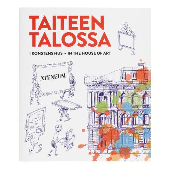 Taiteen talossa - Ateneum puuhakirja