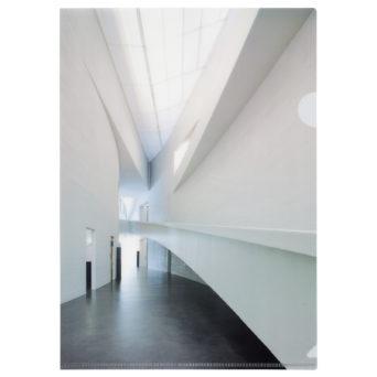 Kiasma muovitasku sisäkuva, kuva kiasman aulasta
