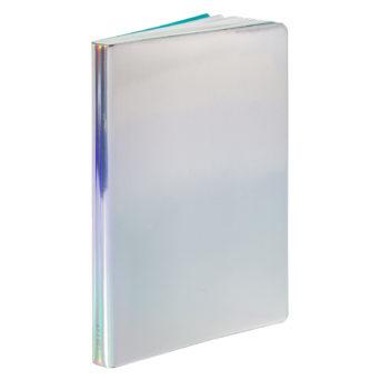 Fluid Chrome hopea muistikirja, hopea muistikirja