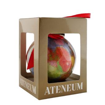 Punaiset omenat joulupallo