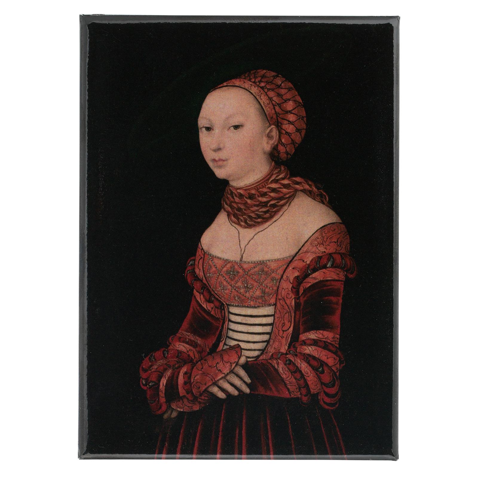 Nuoren Naisen Muotokuva