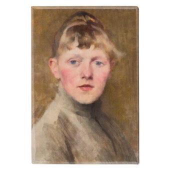 maalaus Helene Schjerfbeck Omakuva 1884-1885