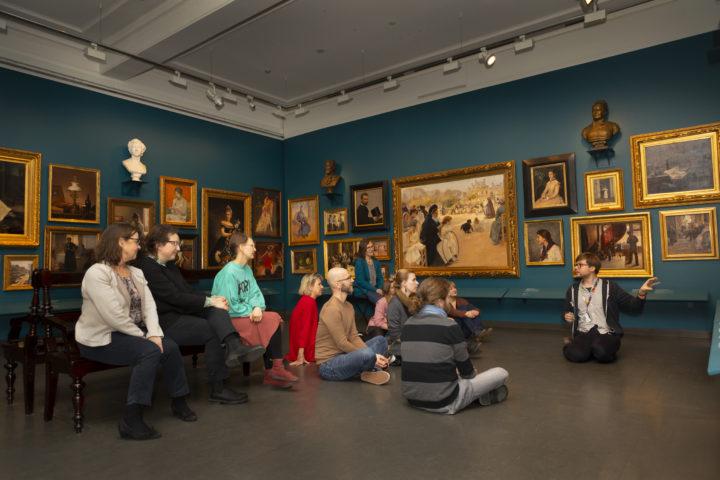Taidevoimala-opastus Ateneumin taidemuseossa