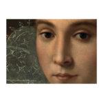 Lähikuva nuoren naisen kasvoista