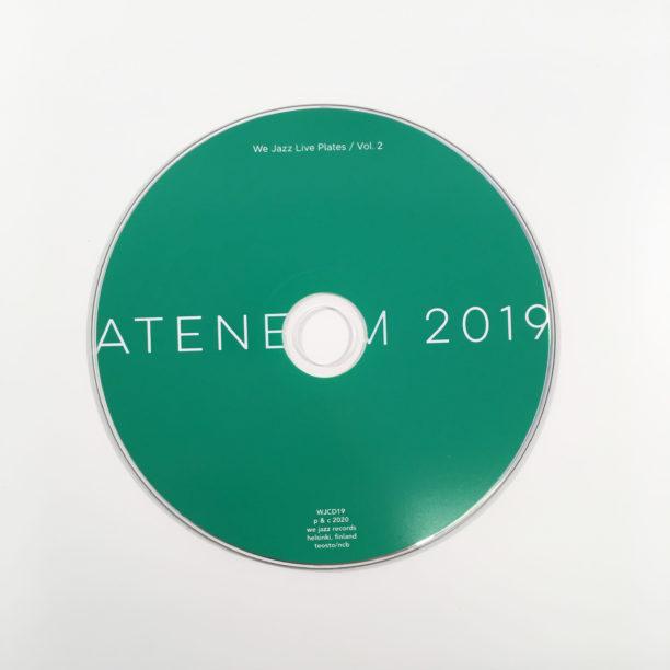 Vihreä CD-levy