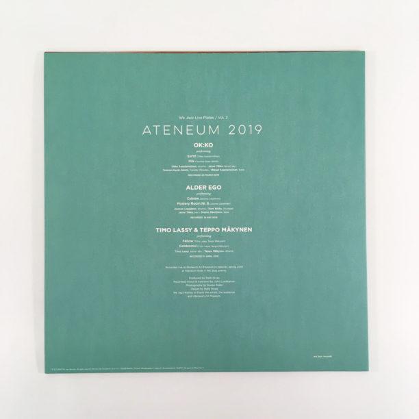 LP-levyn takakansi