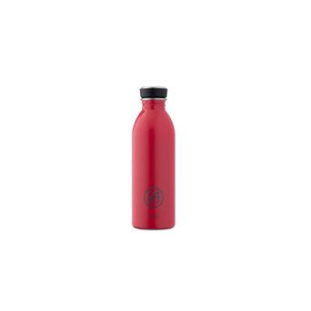 Punainen juomapullo