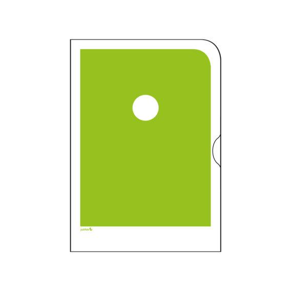 Vihreä paperinen kansio