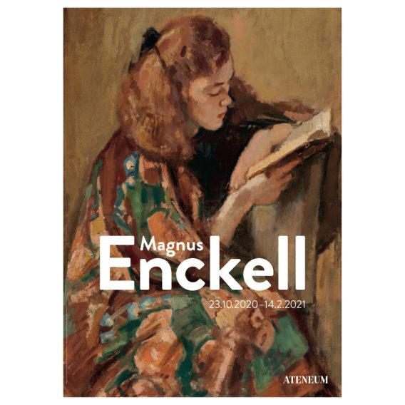 Julisteessa kirjaa lukeva tyttö