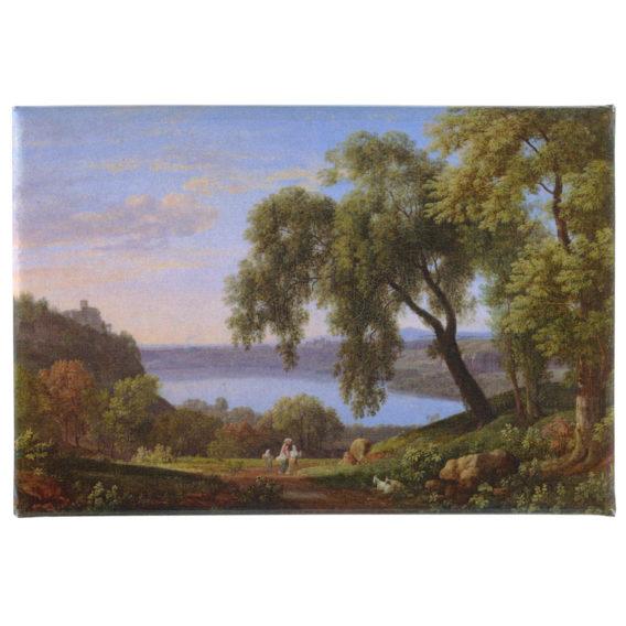 kuvassa maisema jossa puu etualalla vettä takana