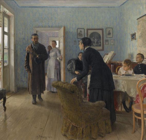 Kuva Repinin maalauksesta