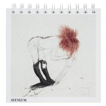 Luonnoslehtiön kannessa punatukkainen tyttö
